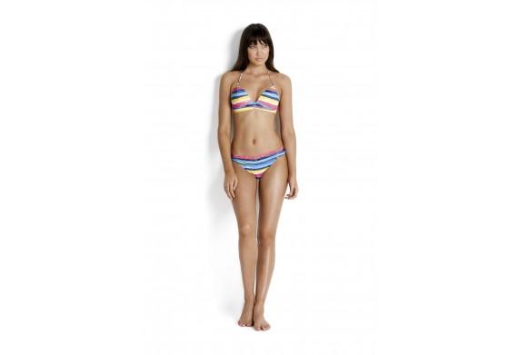 Seafolly Blue Coast Fix Tri Bikini Top