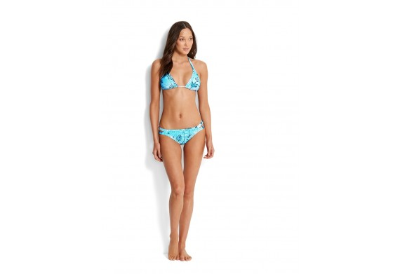 Seafolly Bali Hai Slide Tri Bikini Top