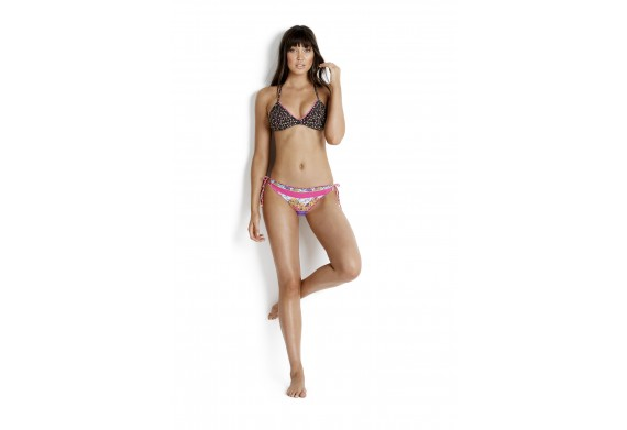 Seafolly Caribbean Kool Action Back Triangle Bikini Top