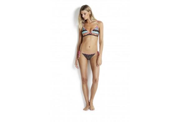Seafolly Caribbean Kool Hipster Tie Side Bikini Briefs
