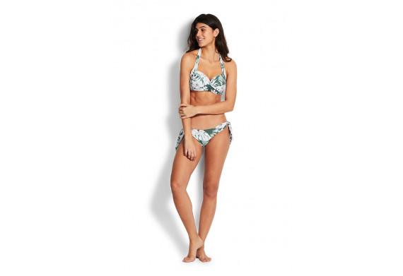 Seafolly Copacabana Twist Soft Cup Halter neck Bikini Top