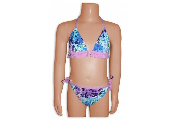 Elizabeth Hurley Flower Print Bikini For Little Girls