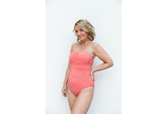 Melissa Odabash for Amoena Jacquie Ruched Swimsuit