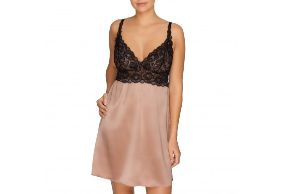 Prima Donna By Night Silk Night Dress in Creme