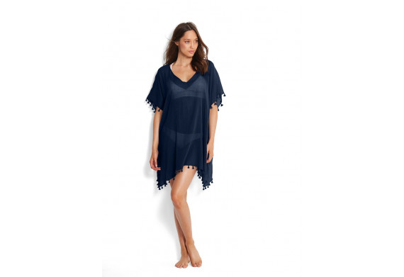 Seafolly Beach Basic Amnesia Kaftan