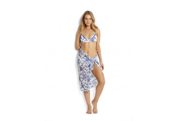 Seafolly Love Bird Fixed Tri Bikini Top