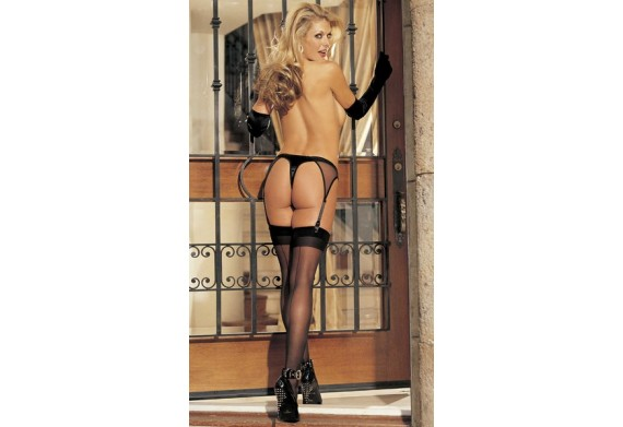 Sheer Back Seam Stockings