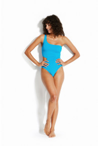 Seafolly Active One-Shoulder Maillot Swimsuit