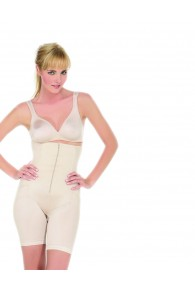 Power Curves High Waist Panty Girdle with Legs and Derriere Lift