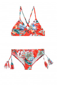 Seafolly Jungle Paradise Trikini for Little Girls