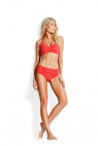 Seafolly Twist Soft Cup Halter-neck Bikini Top