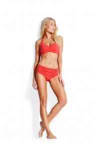 Seafolly Twist Soft Cup Halter-neck Bikini Top