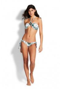 Seafolly Copacabana Ring Front Bandeau Bikini Top