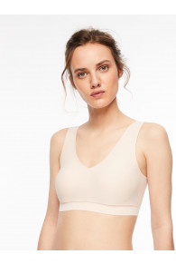 Chantelle Soft Stretch V-Neck Padded Crop Top