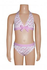 Elizabeth Hurley Flamingo Bikini
