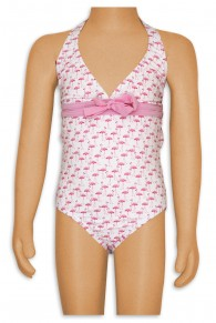 Elizabeth Hurley  Flamingo Little Girls 1PC