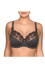 Prima Donna Deauville Full Cup Underwired Bra In Winter Grey