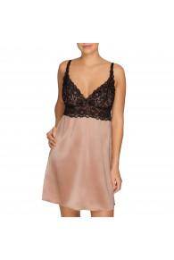 Prima Donna By Night Silk Night Dress in Creme