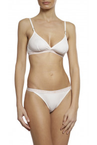 Stella McCartney Ivy Chatting Triangle Sustainable Cotton Bra