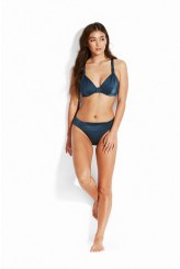 Seafolly Shine On Gathered Front Retro Bikini Bottoms