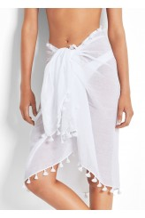 Seafolly Ocean Rose Cotton Gauze Sarong