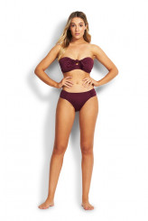 Seafolly Ruched-side Retro Briefs
