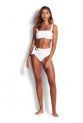 Seafolly Capri Sea Wide Side Retro Briefs