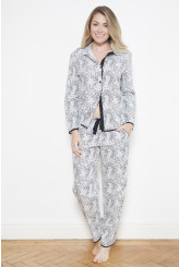Cyberjammies Luna Animal Print Pyjama Set