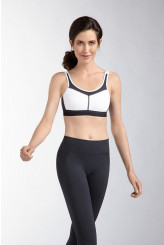 Amoena Power Medium Support Pocketed Sports Bra