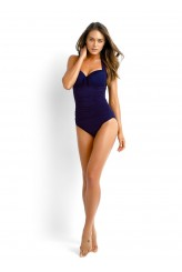 Seafolly Goddess Halter Maillot Swimsuit